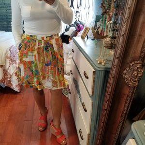 Trina Turk NWOT retro skirt